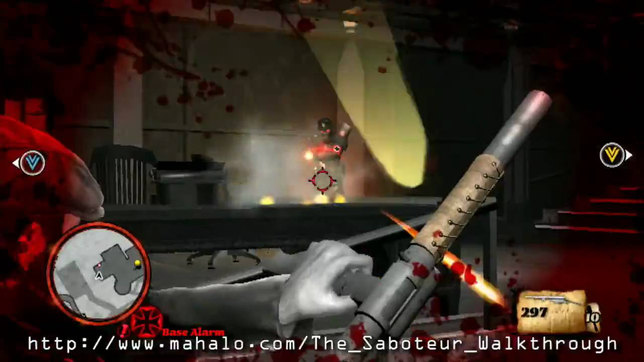 saboteur walkthrough ps3