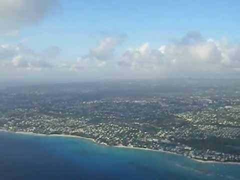 Landing in Barbados @ BGI (Grantley Adams International Airport)