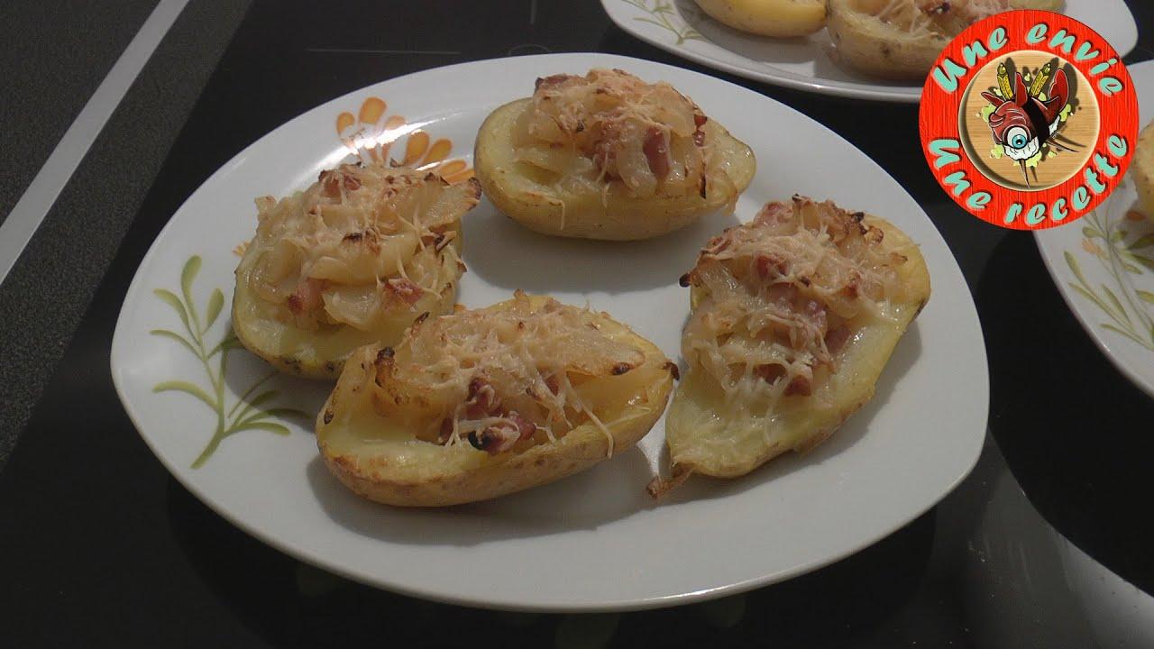 Pommes de terre farcies - Une envie, Une recette - YouTube