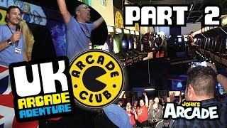 Amazing Arcade Club Tour - Bury UK! Nintendo Sky Skipper Reveal Arcade Adventure Part 2
