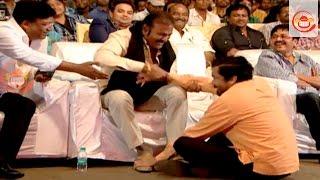 Mohan Babu Makes Fun With Posani At Luckunnodu Audio Launch - Vishnu Manchu, Hansika Motwani
