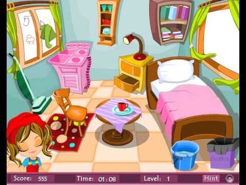 La sorpresa de la hija amorosa - Juego de ordenar y limpiar ...