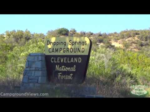 Dripping Springs Campground Temecula California CA Forest Service