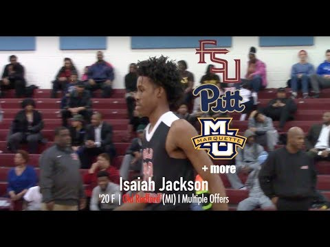 Isaiah Jackson, state's top sophomore, garners attention from MSU and others