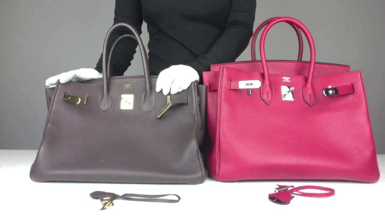 How to Authenticate Hermès Birkin Bags (Secret Vintage Collection) - YouTube 36d5604b597e