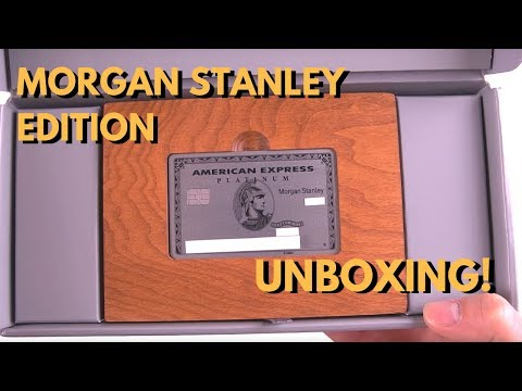 AMEX Platinum Morgan Stanley METAL Card Unboxing & Benefits