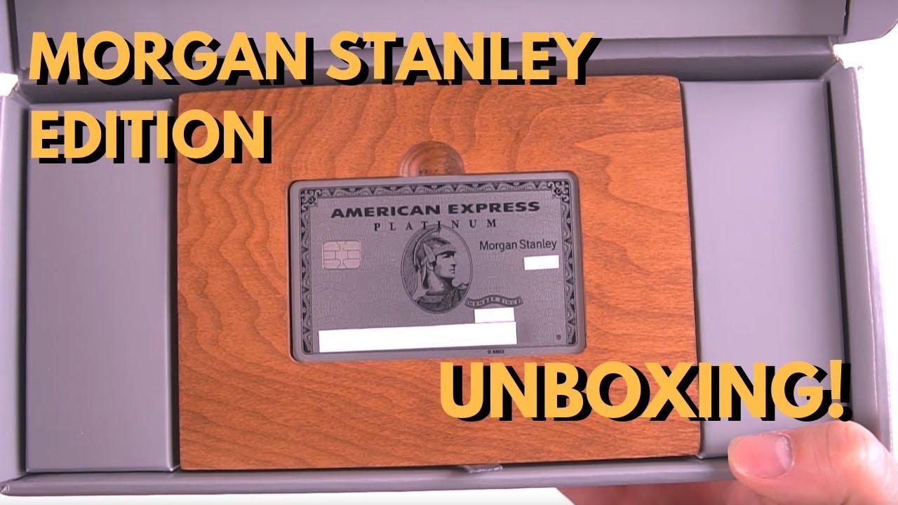 AMEX Platinum Morgan Stanley METAL Card Unboxing & Benefits