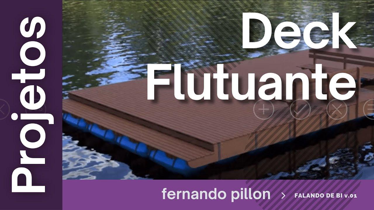 Amado Projeto Deck Flutuante - YouTube HX92