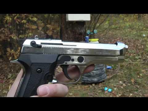 Беретта B92 CO хром СХП пистолет - Авторежим