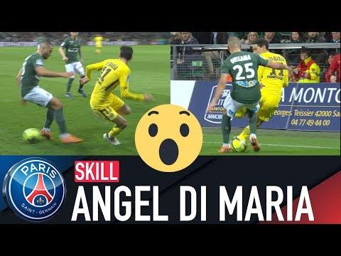 ANGEL DI MARIA INSANE PSG NUTMEGS