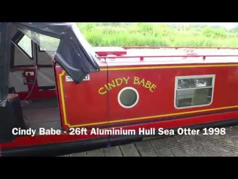 SOLD Cindy Babe - 26ft Aluminium Hull Sea Otter 1998
