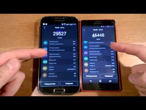 Sony Xperia Z3 Compact vs Samsung Galaxy S4 TEST AnTuTu Benchmark