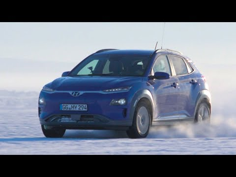 Hyundai Nexo Fuel Cell & Kona Electric Extreme Cold Weather Testing in Lapland