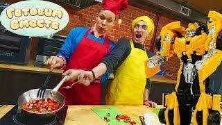 """Шоу """"Я готовлю Лучше"""". Макароны от Мастеров. Видео для детей."""