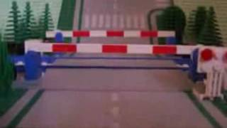 Lego Level Crossing.