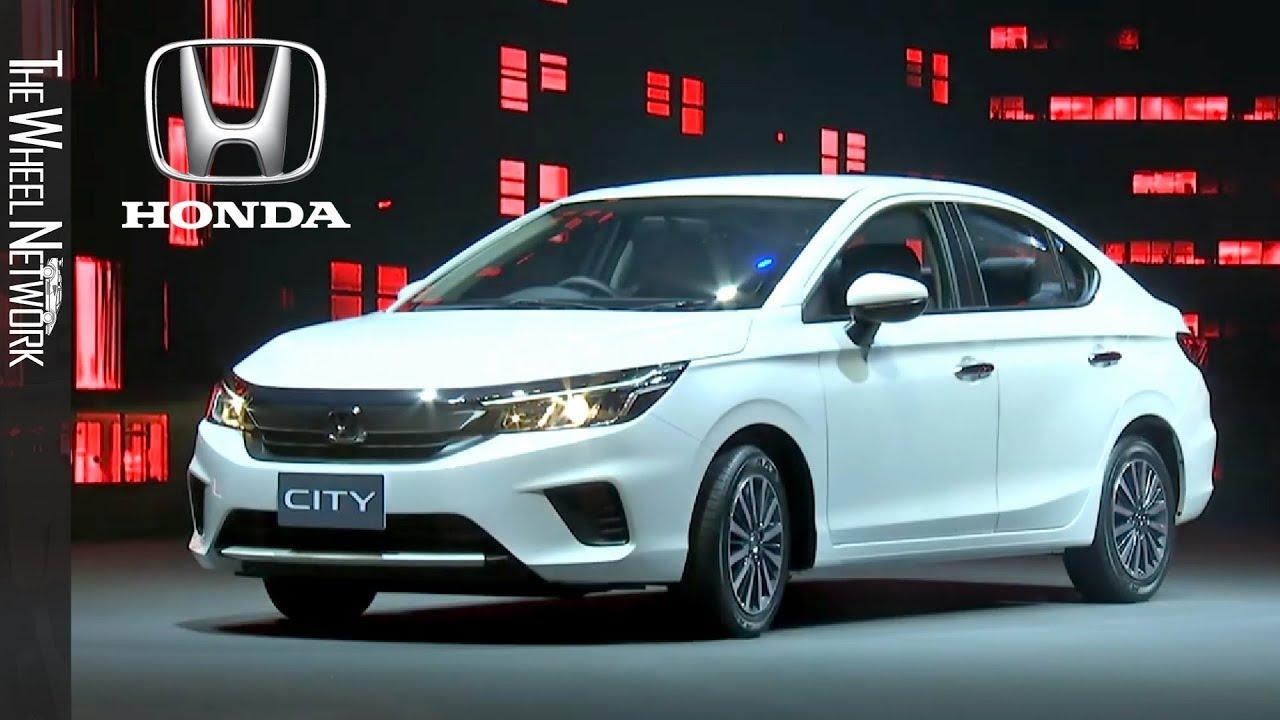2020 Honda City reveal in Thailand