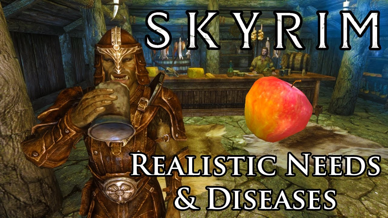 Skyrim Mod: Realistic Needs and Diseases - YouTube