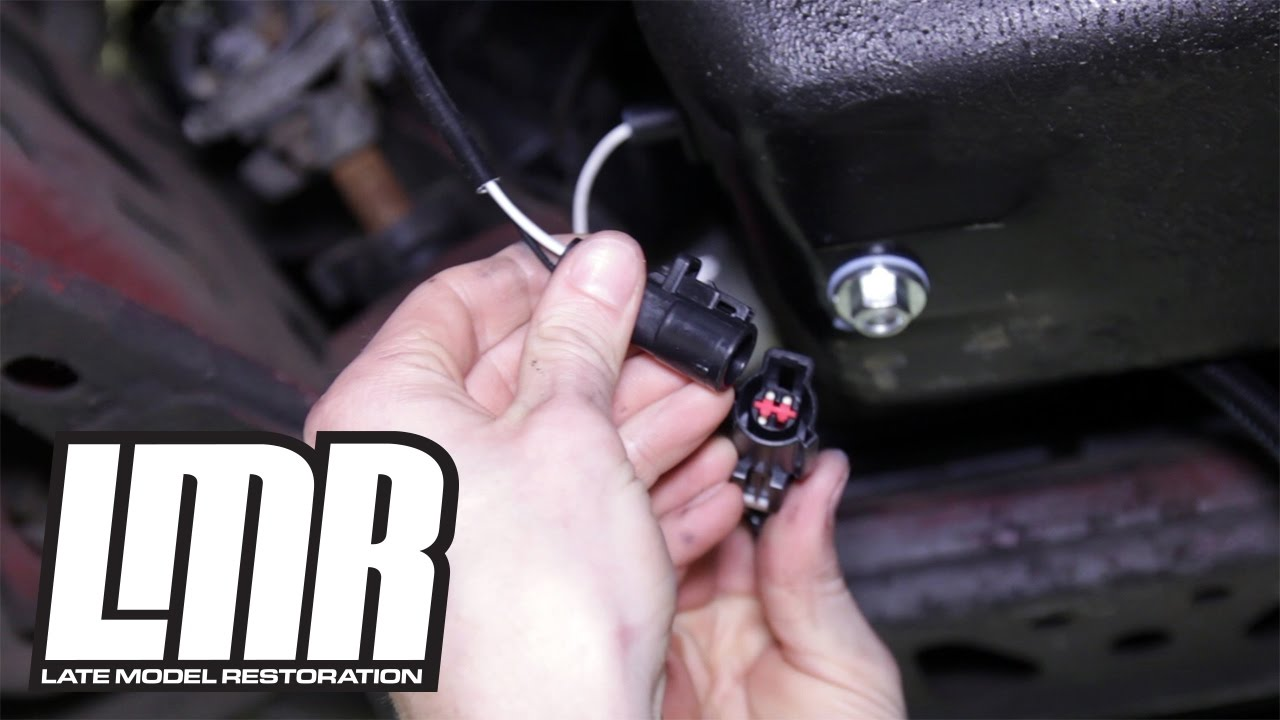 small resolution of 1991 1993 mustang 5 0resto o2 sensor harness manual review install youtube