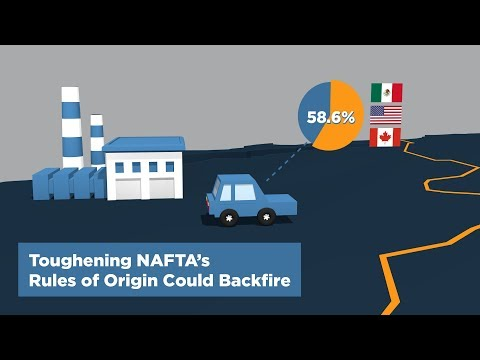 Toughening NAFTA's Rules of Origin Could Backfire