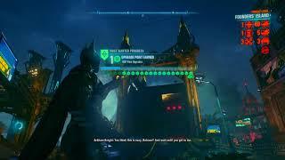 Batman Arkham Knight 100% Walkthrough part 58, 720p HD (NO COMMENTARY)