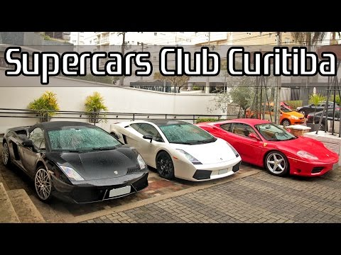 Supercars Club Curitiba Meeting! Ferrari Lamborghini Porsche BMW Audi Mercedes