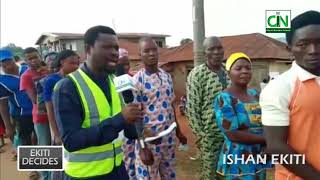 EKITI ELECTION: SCENES FROM ISAN EKITI