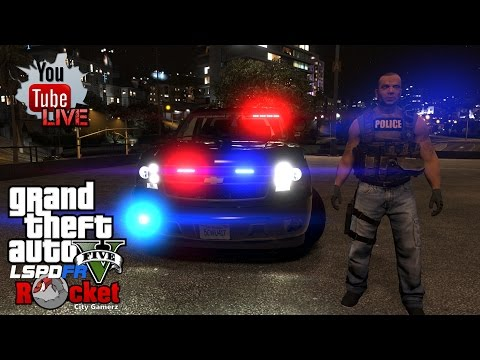 Unmarked Tahoe - Task Force Patrol!   GTA 5 LSPDFR COPS (RECORDED LIVE!)