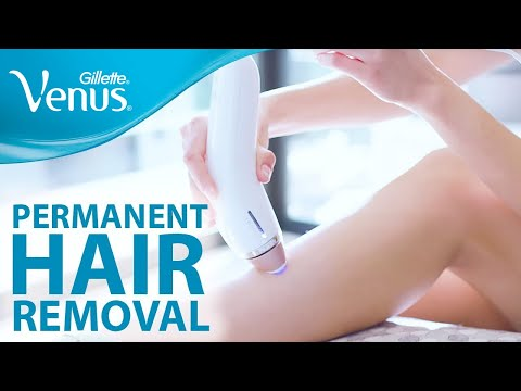 Permanent Hair Removal At Home Hair Removal Tips Gillette Venus Youtube