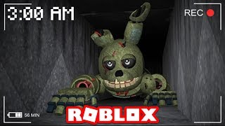 DO NOT PLAY ROBLOX AT 3:00 AM! (SECRET RECORDING)