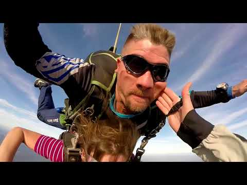 Tabitha Williams's Tandem skydive in Northeast PA!