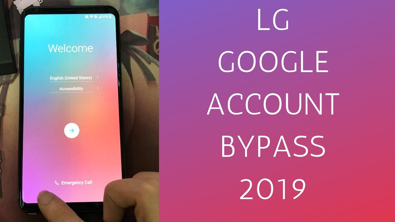 LG FRP KILLER - BYPASS FRP 2019 ANY MODEL