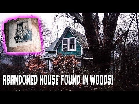 Abandoned House Found In the Woods - YouTube