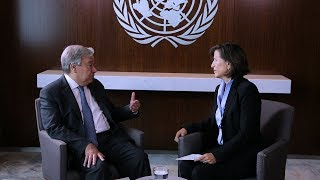 """Secretary-General urging Member States to bring """"concrete plans"""" to #UNGA (Interview)"""
