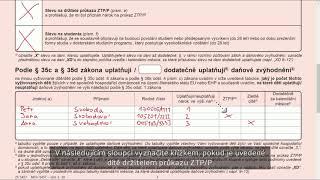 Prohlášení poplatníka daně z příjmu fyz. osob pro 2019, ČR