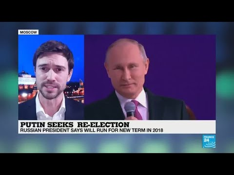 Russia: President Putin to seek new six-year term in 2018 elections