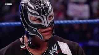 Rey Mysterio talks to Batista