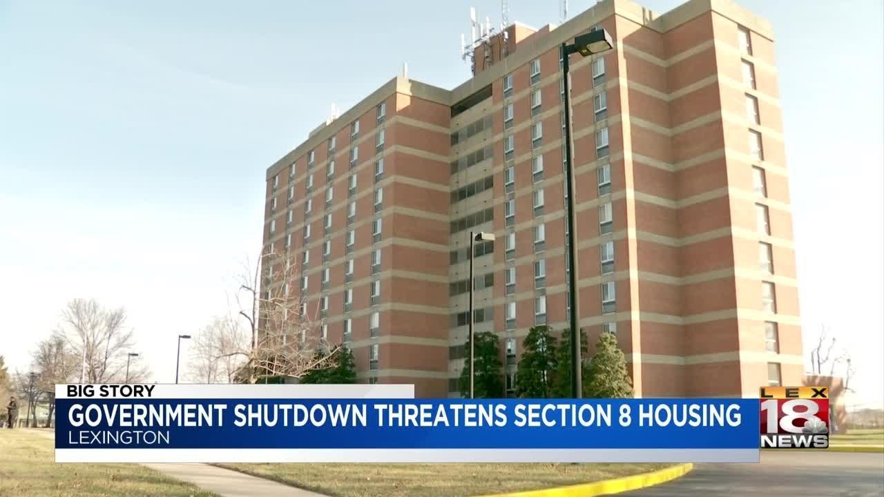 Government Shutdown Threatens Section 8 Housing - YouTube