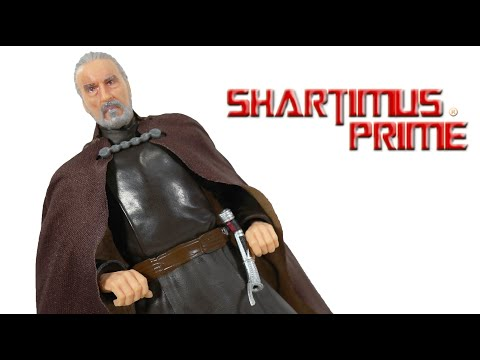 Black Series Count Dooku Star Wars Attack Of The Clones 6 Inch Hasbro Movie Action Figure Review