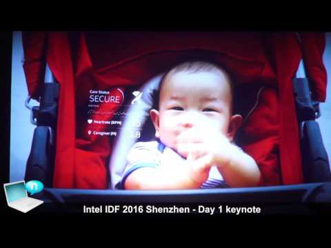 Intel IDF 2016 Shenzhen   Day 1 keynote