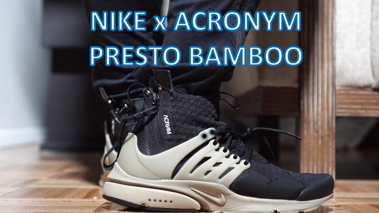Nike Acronym Presto - Review/On-feet