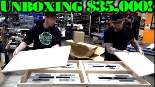 Unboxing $35,000! 4 D\'Amore Engineering Class A/AB Hi Res Amps Opened, Exposed, Explained (the guts)