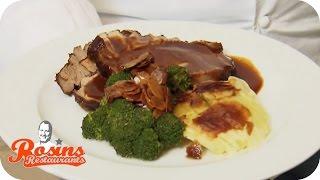 Rosins Restaurants   Rosins Rezept: Schweinebraten mit Kartoffelgratin   kabel eins