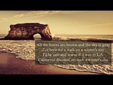Sia - California Dreamin' [Lyrics]