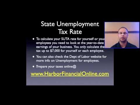 State Unemployment Tax Rate 2012, 2013