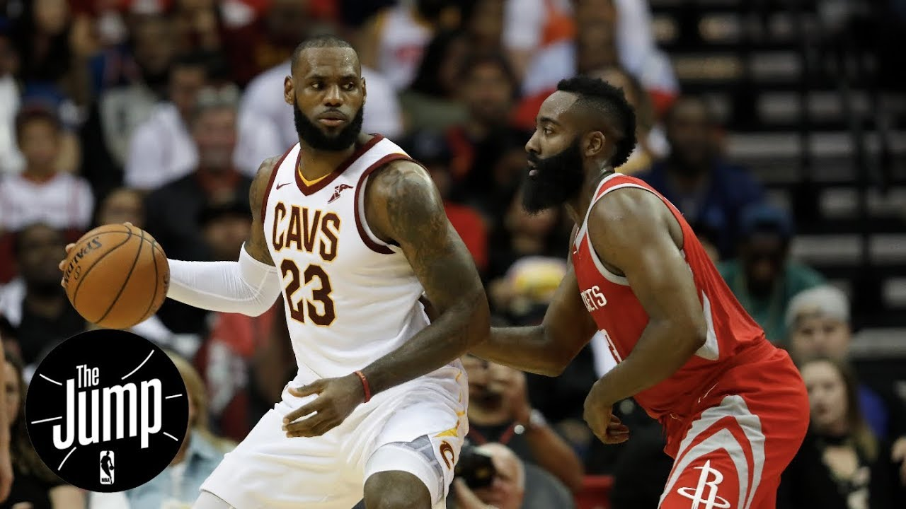1e7875f307b6 LeBron James or James Harden  Who has your vote for NBA MVP right now