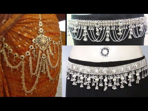 Silver kamarband design with weight //light weight silver kamarband