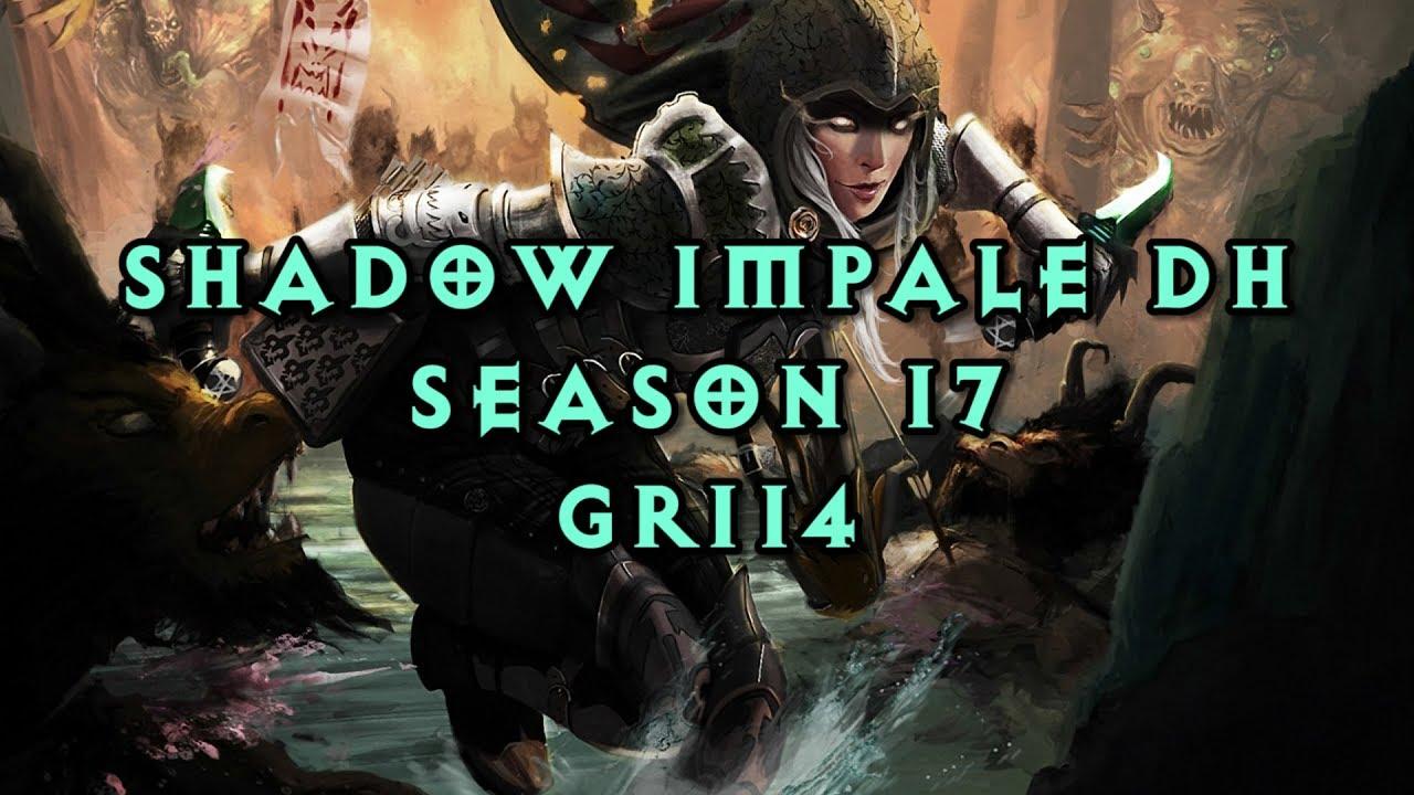 Diablo III - Shadow Impale DH - GR114 (Early S17)