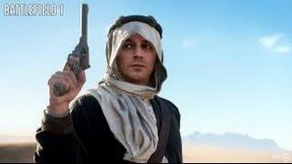 Battlefield 1 - Лоуренс Аравийский полное прохождение/Lawrence of Arabia complete passage.