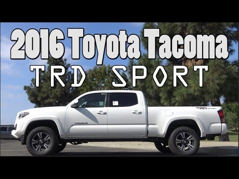 2016 Toyota Tacoma Trd Sport Review Premium Technology Package