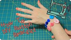 How To Make a Button Bracelet | Easy Kids DIY